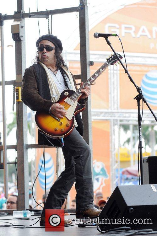 Tony Cantania of the Jason Bonham's Led Zeppelin...