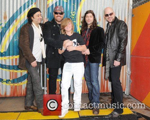 L-R Tony Cantania,Jason Bonham,Michael Devin and James Dylan...