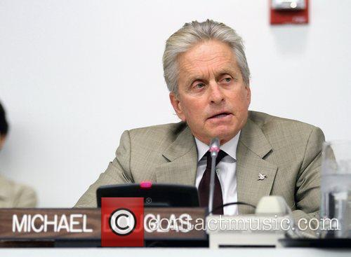 Secretary-General, Messenger of Peace Michael Douglas delivers remarks...
