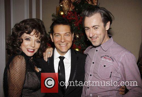 Joan Collins, Alan Cumming and Michael Feinstein 2