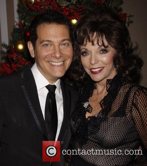 Michael Feinstein and Joan Collins 7