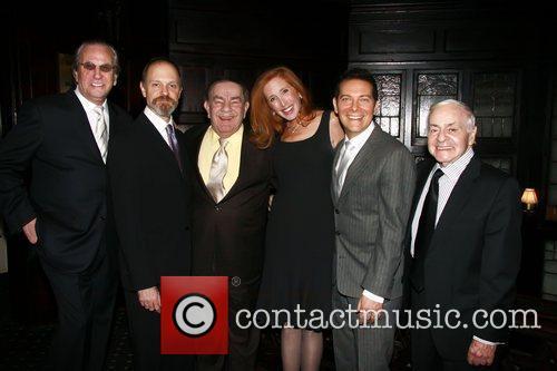 Danny Aiello, David Hyde Pierce, Freddie Roman and Michael Feinstein 3