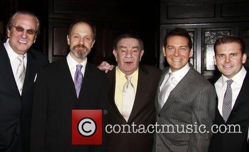Danny Aiello, David Hyde Pierce, Freddie Roman and Michael Feinstein 4