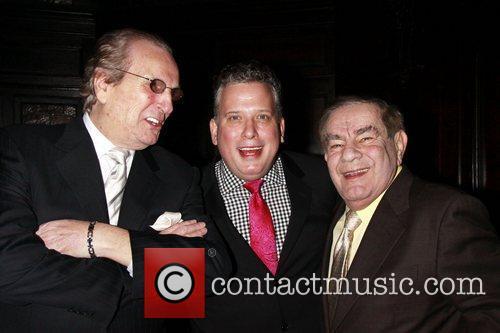 Danny Aiello, Freddie Roman and Michael Feinstein 2