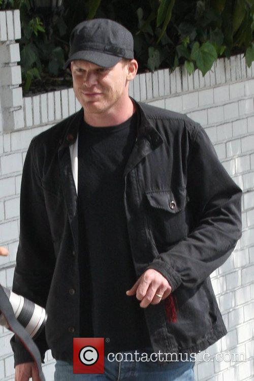 Michael C Hall  out shopping in Hollywood...