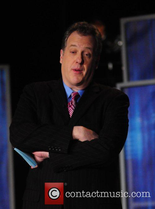 Michael Kay  during a live taping for...
