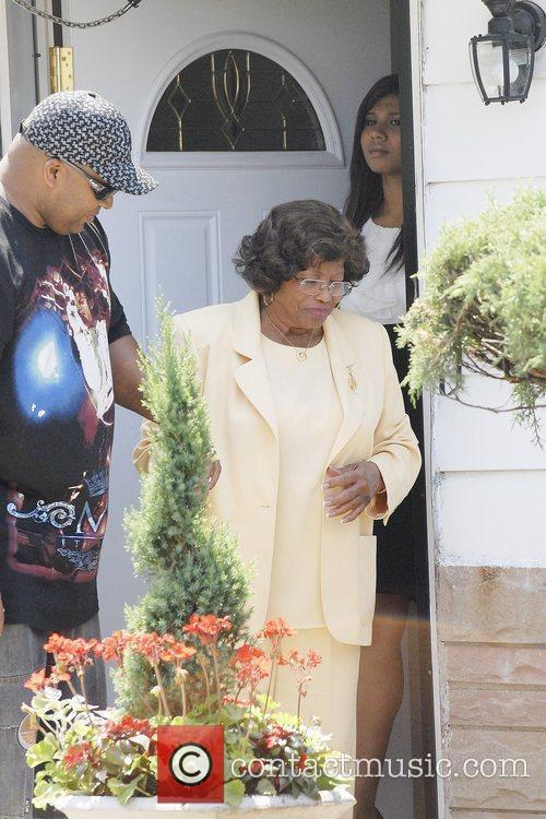 Katherine Jackson, Michael Jackson and Randy Jackson 5