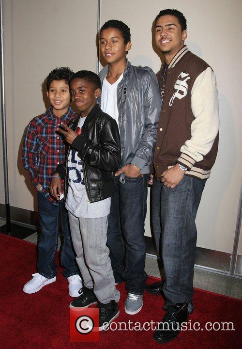 Jaffar Jackson, Michael Jackson and Quincy Jones 1