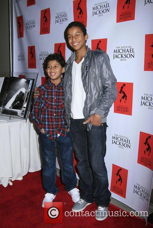 Jaffar Jackson and Michael Jackson 2