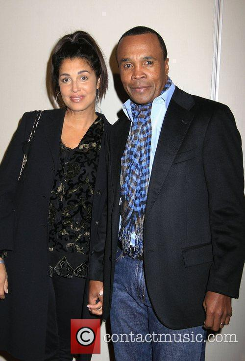 Sugar Ray Leonard and Michael Jackson 1