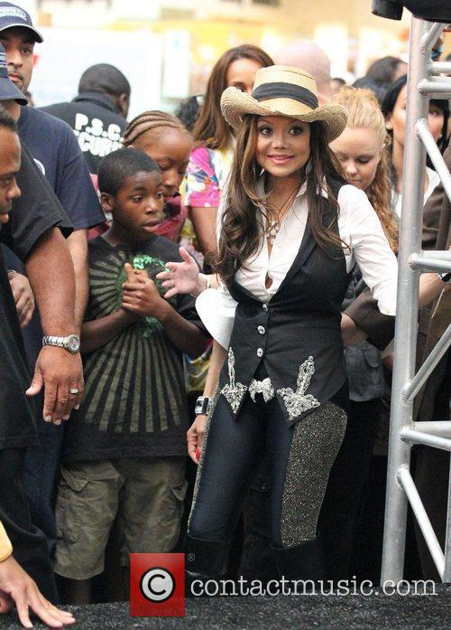 La Toya Jackson and Michael Jackson 3