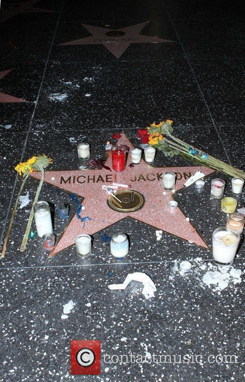 Michael Jackson, Star On The Hollywood Walk Of Fame