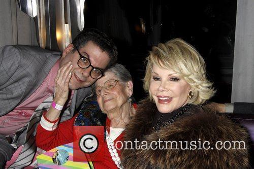 Michael Musto and Joan Rivers 1