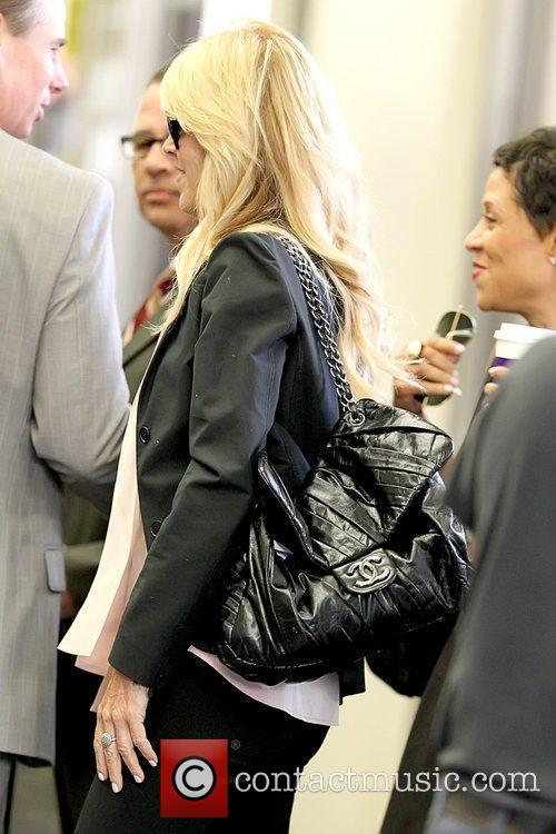 Dina Lohan and Shawn Chapman Holley, Lindsay Lohan's...