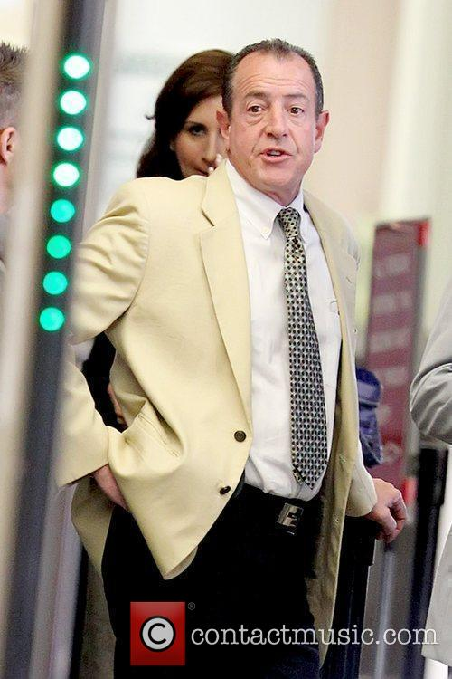 Michael Lohan arriving at Beverly Hills Courthouse for...