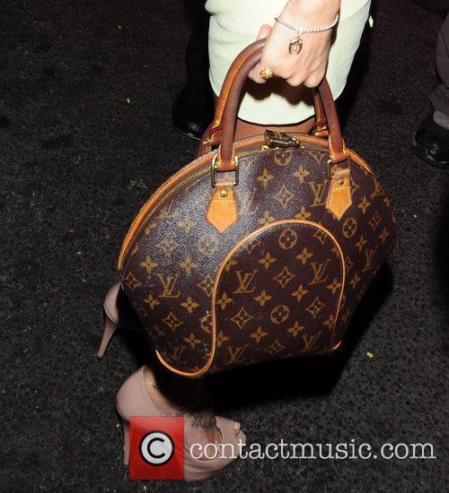 Michelle Heaton arrives at Cafe De Paris in...