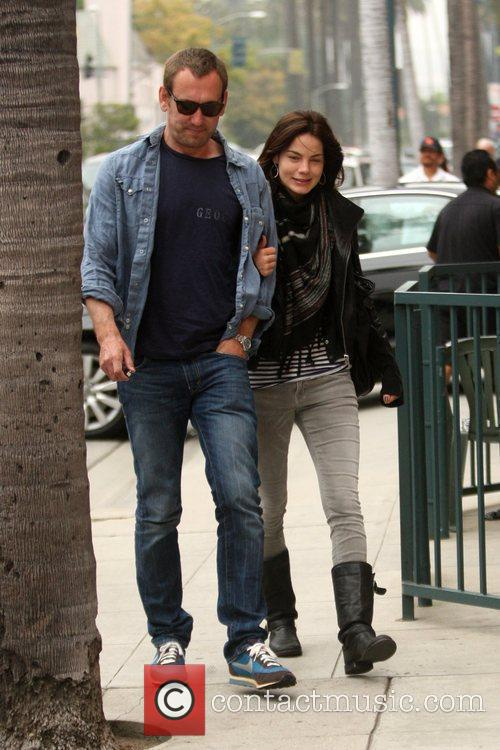 Peter White and Michelle Monaghan 2