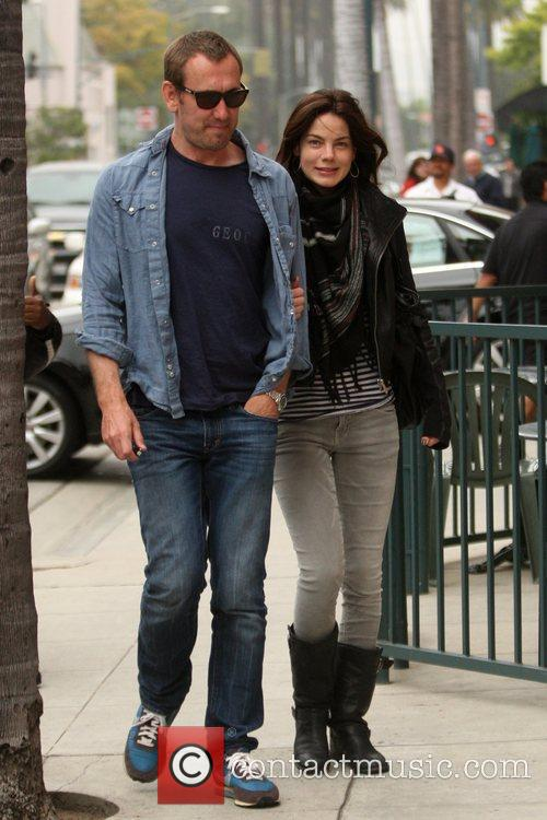 Peter White and Michelle Monaghan 5
