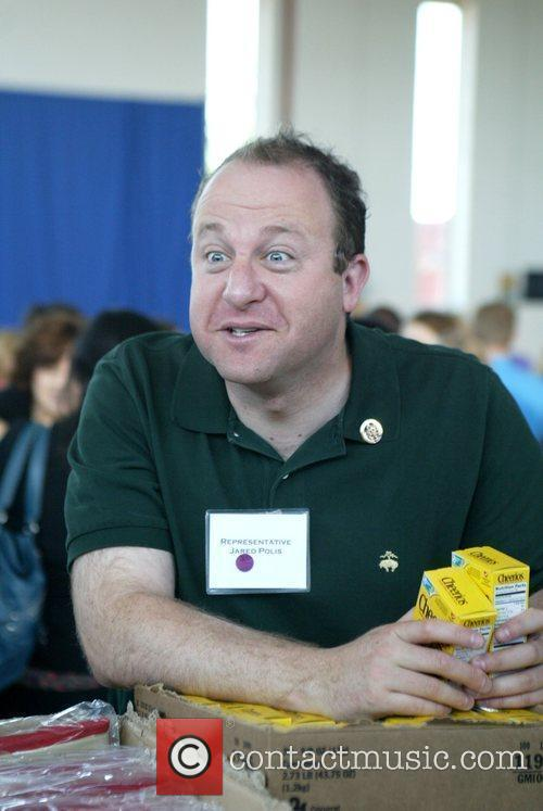 Congressman Jared Polis First Lady Michelle Obama hosted...