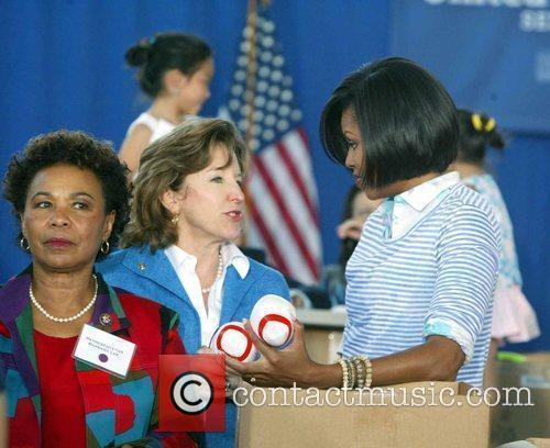 Michelle Obama First Lady Michelle Obama hosted a...
