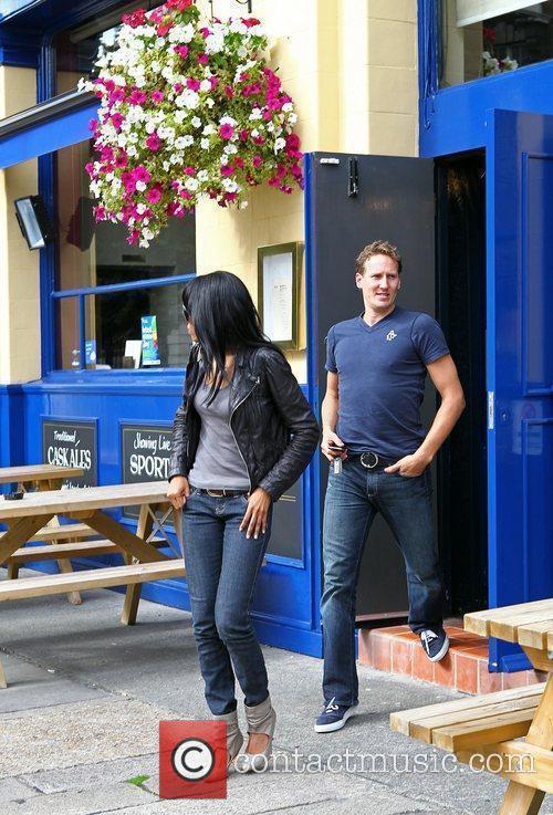 Michelle Williams and Brendan Cole 12