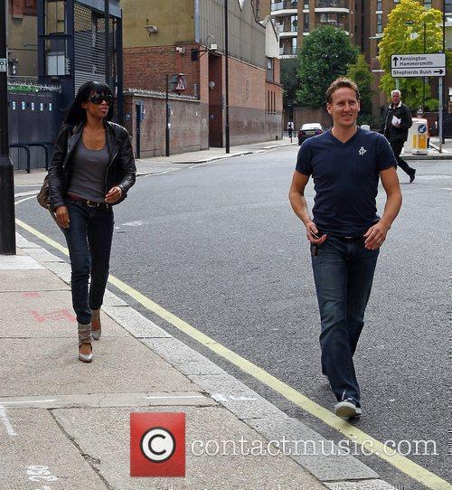 Michelle Williams and Brendan Cole 13
