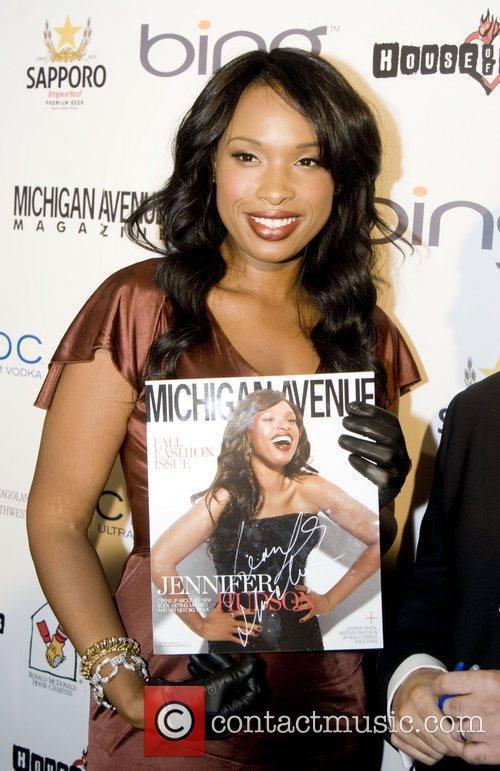 Jennifer Hudson Michigan Avenue Magazine 2nd Anniversary revealing...