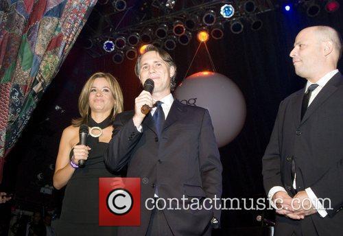 Susanna Negovan, Jasosn Binn and Dan Uslan Michigan...