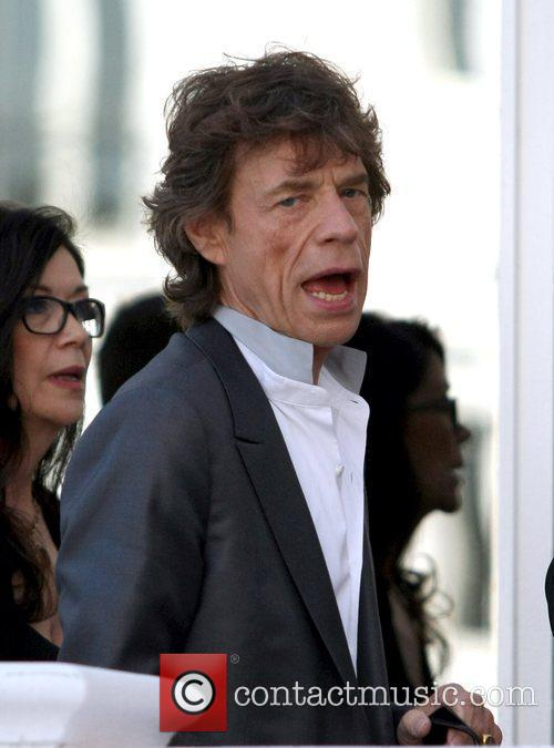 Mick Jagger out and about during the Cannes...