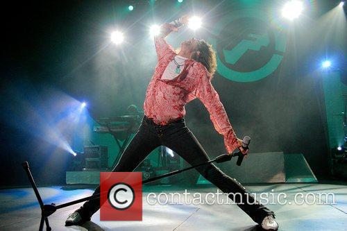 Foreigner performing live in concert at Hard Rock...