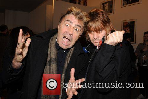 Glen Matlock, Mick Rock and Zak Starkey 2
