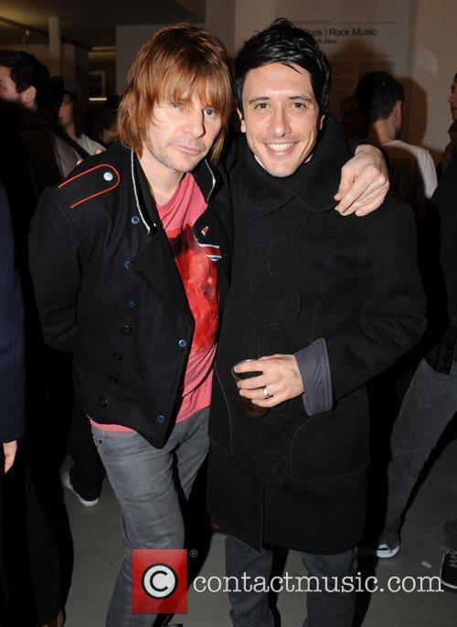 Zak Starkey and Mick Rock 2
