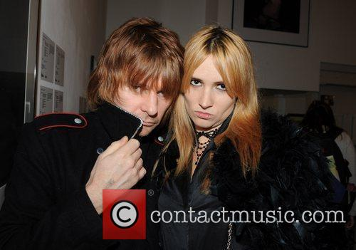 Zak Starkey and Mick Rock 6