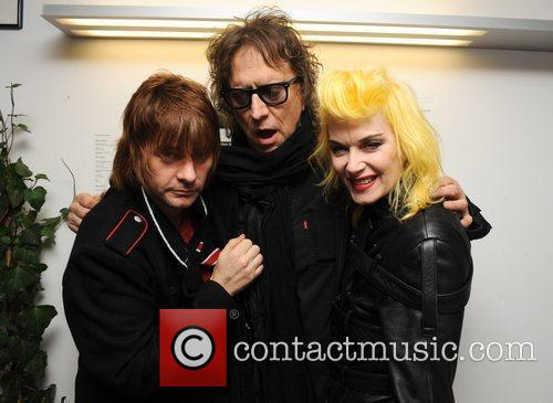 Zak Starkey and Mick Rock 7