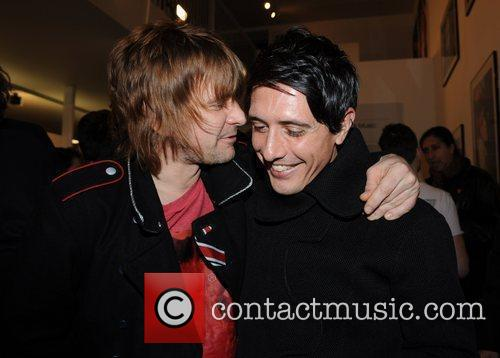 Zak Starkey and Mick Rock 5