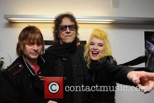 Zak Starkey and Mick Rock 4