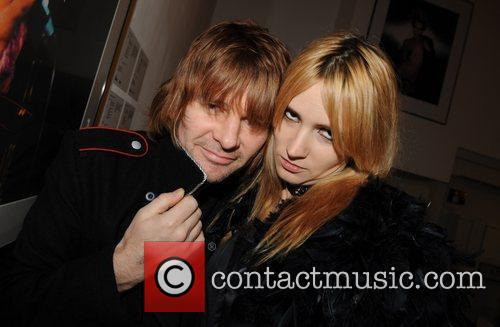 Zak Starkey and Mick Rock 1