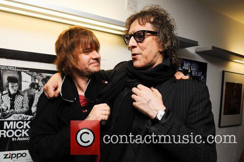 Zak Starkey and Mick Rock 3