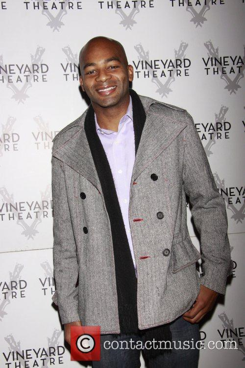 Brandon Victor Dixon Opening night of the Off-Broadway...