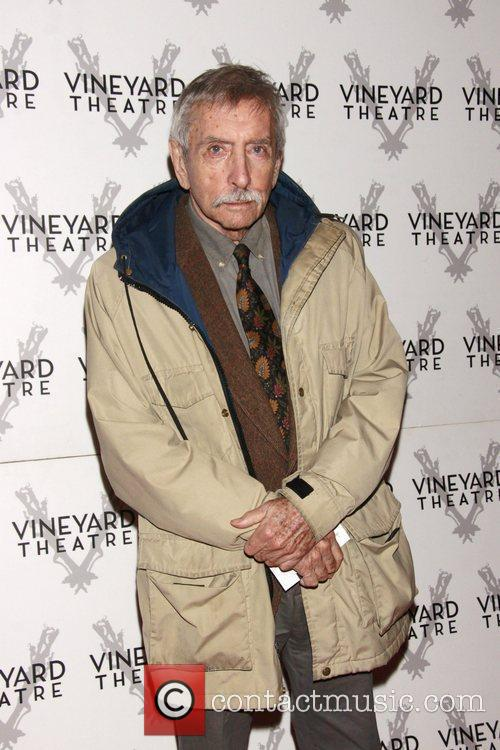 Edward Albee Opening night of the Off-Broadway production...