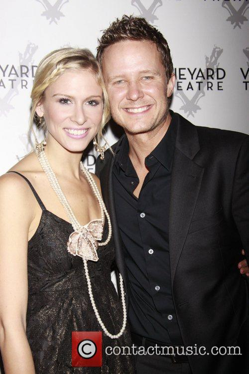 Stephanie Gibson and Will Chase Opening night of...