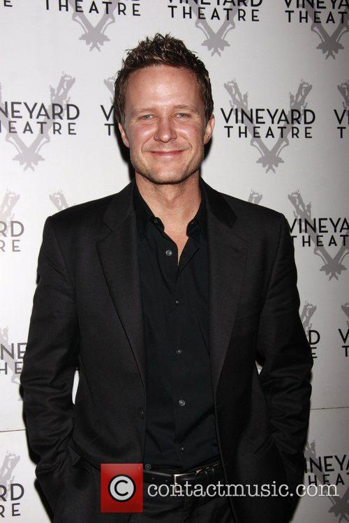 Will Chase Opening night of the Off-Broadway production...