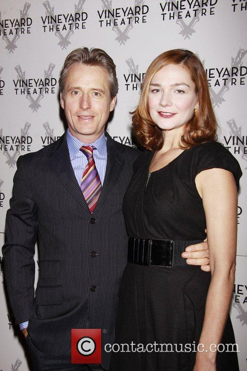 Linus Roache and Heather Burns Opening night of...