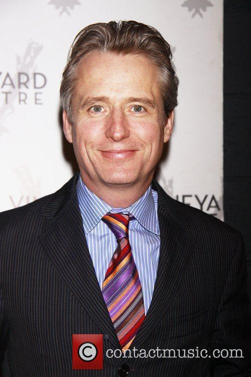 Linus Roache Opening night of the Off-Broadway production...