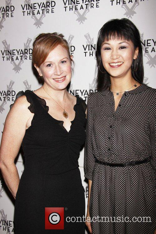 McKenna Kerrigan and Cindy Cheung Opening night of...