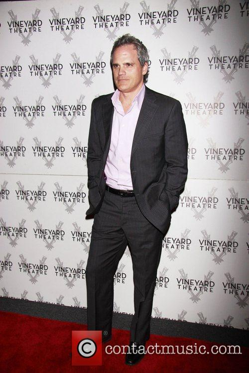 Michael Park Opening night of the Off-Broadway production...