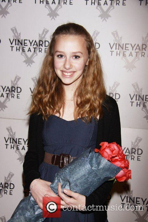 Olivia Scott Opening night of the Off-Broadway production...