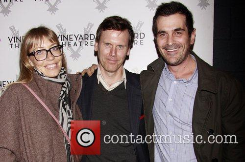 Will Eno and Ty Burrell Opening night of...
