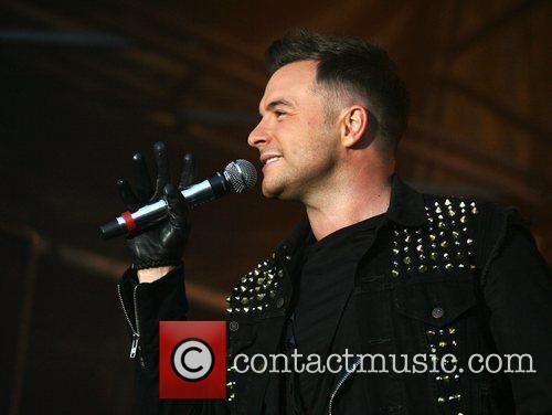 Shane Filan Westlife  Midlands Music Festival at...
