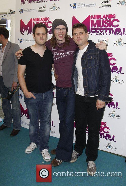(L-R) Peter Ellard, Greg Churchouse and Roy Stride...